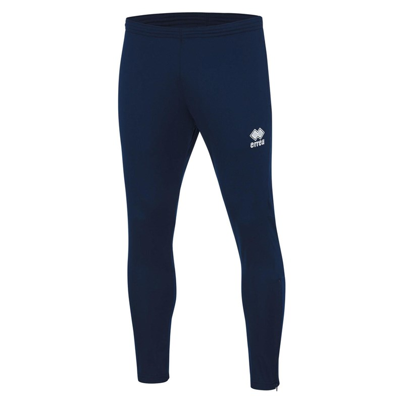 Navy Polyester skinni fit training pant
